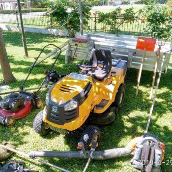 εξοπλισμός συντήρησησ χώρων πρασίνου